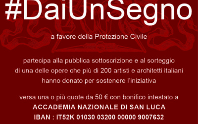 #DaiUnSegno